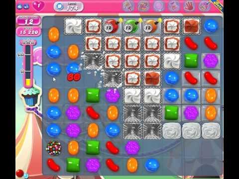 candy crush saga level 174 - YouTube