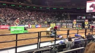 PBR Professional Bull Riders Madison Square Garden New York City Jan 6, 2013