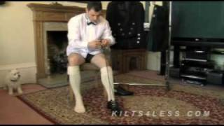 Learn How To Lace Kilt Brogues