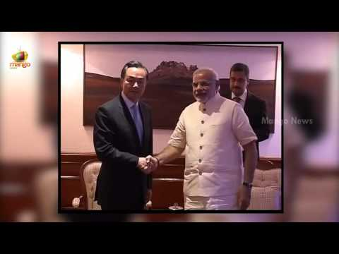 PM Narendra Modi meets Chinese Foreign Minister Wang Yi