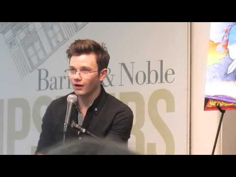 Chris Colfer Q & A Part 1 - Barnes & Noble Union Square, NYC (7/8/14)