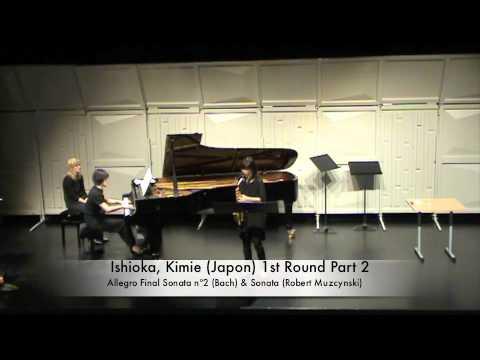 Ishioka, Kimie (Japon) 1st Round Part 2