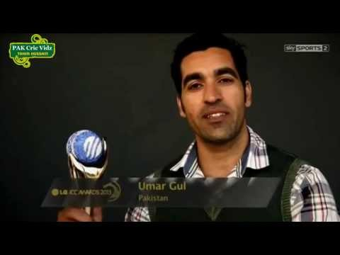 UMAR GUL * ICC T20 Performance of the year * [2013]