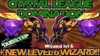 New LEVEL 6 Wizard! + Crystal League DOMINATION!!