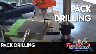 Pack drilling several identical items