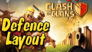 Clash Of Clans BEST Defence Layout For Level 7 Town Hall