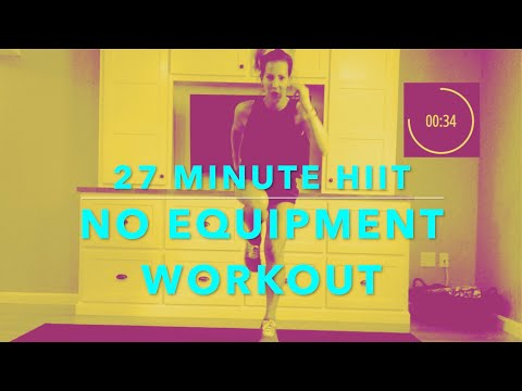 27 MIN BODYWEIGHT HIIT // WARM UP + COOL DOWN INCLUDED //