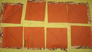 Tutorial De Patchwork Hacer Triangulos Por Metodo De