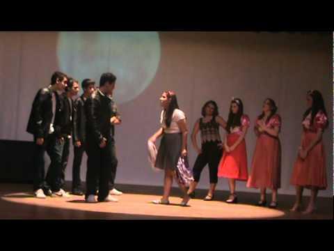 Cena do Peitinho - Colégio Prudente de Moraes, Peça Grease, nos Tempos da Brilhantina 2010