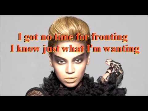 Videophone - Beyoncé ft Lady Gaga special lyrics