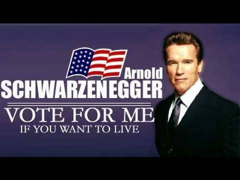 ARNOLD is Running for PRESIDENT 2012!!