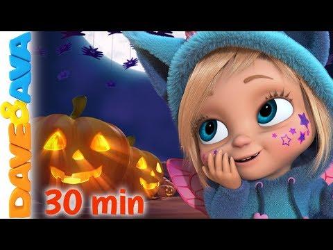 🎃 Little Pumpkin - Fall Halloween Song | Dave and Ava Nursery Rhymes & Kids Songs 🎃