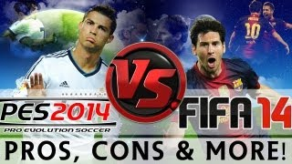 [TTB] FIFA 14 Vs PES 2014 Gameplay Comparison & More