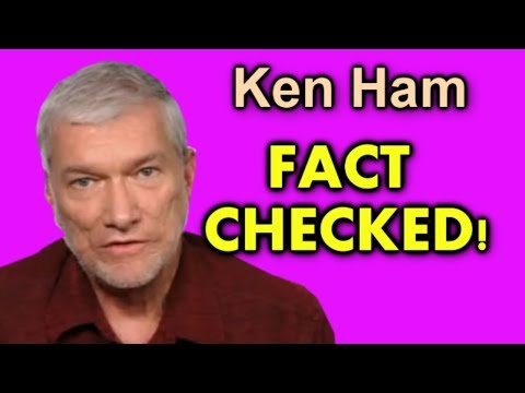 Why do people laugh at creationists? (part 41, Ken Ham, Bill Nye debate)