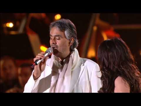 (LIVE) Con Te Partiro | Andrea Bocelli & Sarah Brightman