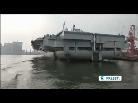 CHINA Launches New  AIRCRAFT CARRIER To Challenge US Naval Supremacy.( Path To WW3)