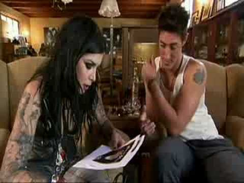LA INK - Eric Balfour. Kat Von D Tattoos a tribute to the city of Los
