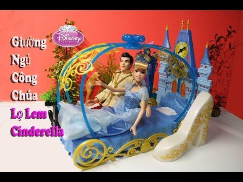 Disney Princess Giường Ngủ Của Công Chúa Lọ Lem Cinderella (Thùy Hương)  Cinderella's Dream Bedroom