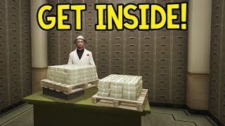How To: Get Inside The Bank Vault! (GTA 5 Online Glitch