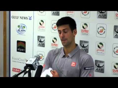 Post-Match Press Conference with Novak Djokovic, Semifinals, Dubai Tennis Championships 2014