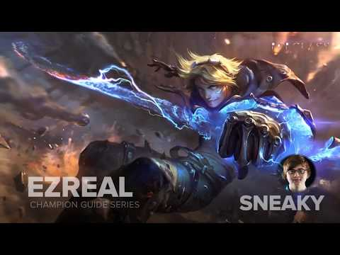 Ezreal ADC Guide by Pro LoL Player Cloud9 Sneaky
