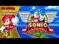 Sonic Mania Knuckles and Knuckles Gameplay plus Super Knuckles Debug Mode LIVE