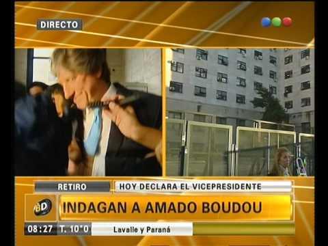 Caso Ciccone: hoy indagan a Boudou - Telefe Noticias