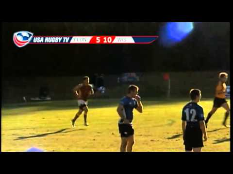 2013 USA Rugby College 7s National Championship: Elon vs. Wisconsin