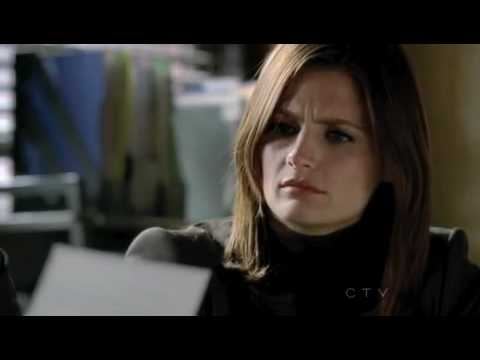 "Castle 3x05 - I love you, Castle 3x05 - Anatomy of a Murder, aired October 18th 2010. Beckett: Listen to what she wrote to him, ""I can't bare to see you suffer. Make a new life with s..."