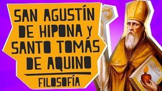 San Agustín  y Santo Tomás de Aquino