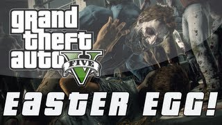 "Grand Theft Auto 5 ""Zombie Outbreaks"" Archive Easter Egg"