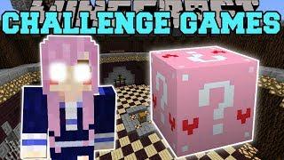 Minecraft: EVIL LDSHADOWLADY CHALLENGE GAMES - Lucky Block Mod - Modded Mini-Game