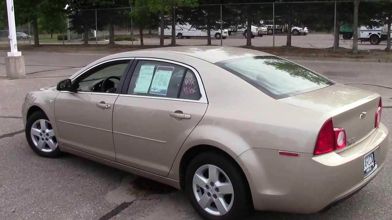 2008 chevy malibu ls w 1ls youtube. Cars Review. Best American Auto & Cars Review