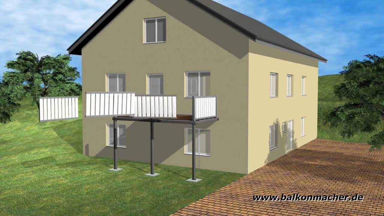 produktvideo balkonmacher anbaubalkone vorstellbalkone in jeder farbe gr e wartungsfrei. Black Bedroom Furniture Sets. Home Design Ideas