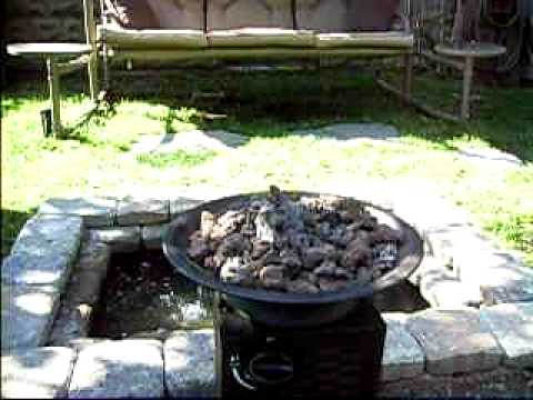 My Do It Yourself Small Backyard Water Feature Youtube