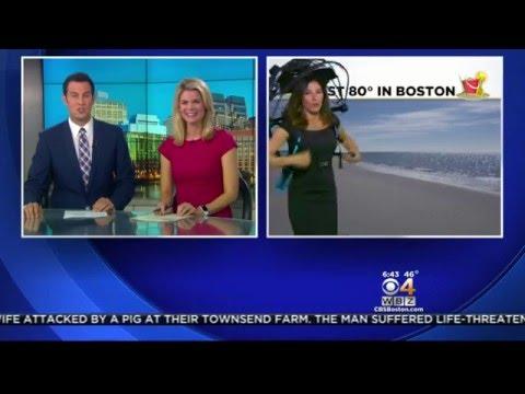 Nubrella on WBZ This Morning CBS Boston