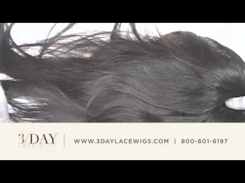 Silky Straight Human Hair - 3-Day Lace Wigs