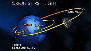 NASA's Orion EFT-1 Full Mission in 1h 40min (Dec. 5, 2014)