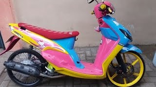 Top modifikasi mio sporty thailand style