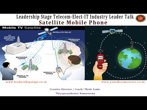 Leadership Stage Meme-Telecom-Electronics-IT Industry Lead Talk -Satellite Mobile Phone