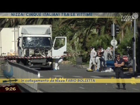 Nizza: cinque italiani tra le vittime