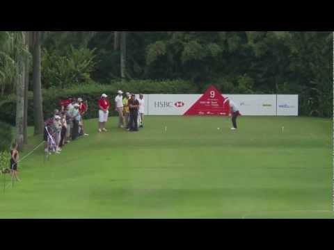 Hole in one do sueco Richard Johnson no Brasil Classic apresentado por HSBC