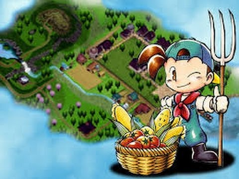 1º video do canal harvest moon back to nature 1#