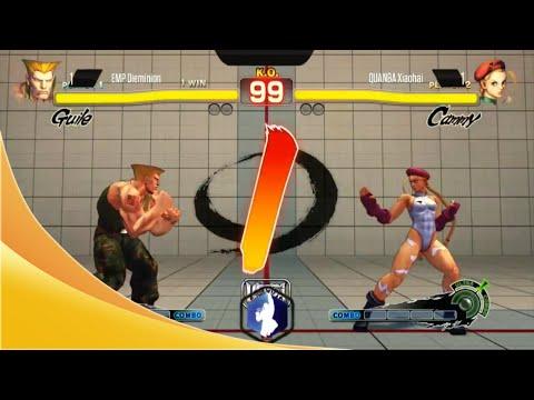 EVO 2014 - ULTRA Street Fighter 4 [ Dieminion (Guile) vs Xiao Hai (Cammy) ]