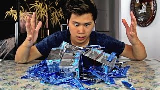 2000 PIECES OF GUM CHALLENGE!!!
