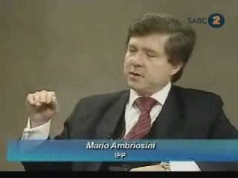 Dr Mario Oriani - Ambrosini MP on fiat money and the SARB