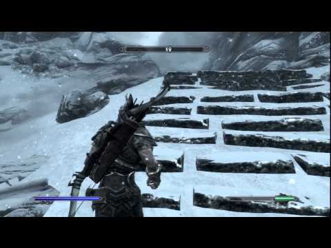 The Elder Scrolls V: Skyrim (PS3) HD Part 13 - High Hrothgar