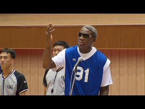 Former NBA star Rodman sings happy birthday to