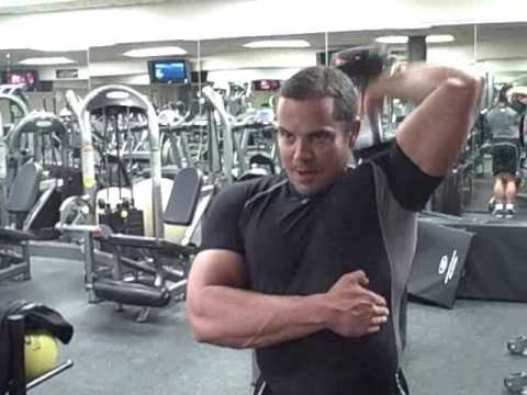 Tricep Workout With Dumbells
