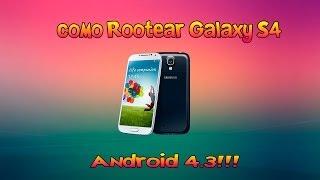 Como Rootear Galaxy S4 Con Android 4.3